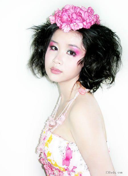 化妆造型-美容美发化妆作品信息-138中国美妆培训网图片图片