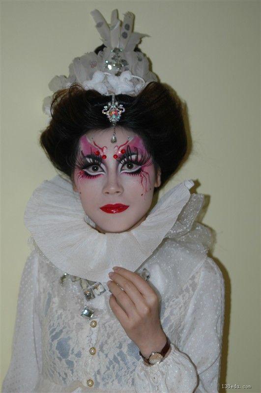 美容美发化妆作品信息-138中国美妆培训网图片