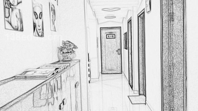 我的学校的简笔画