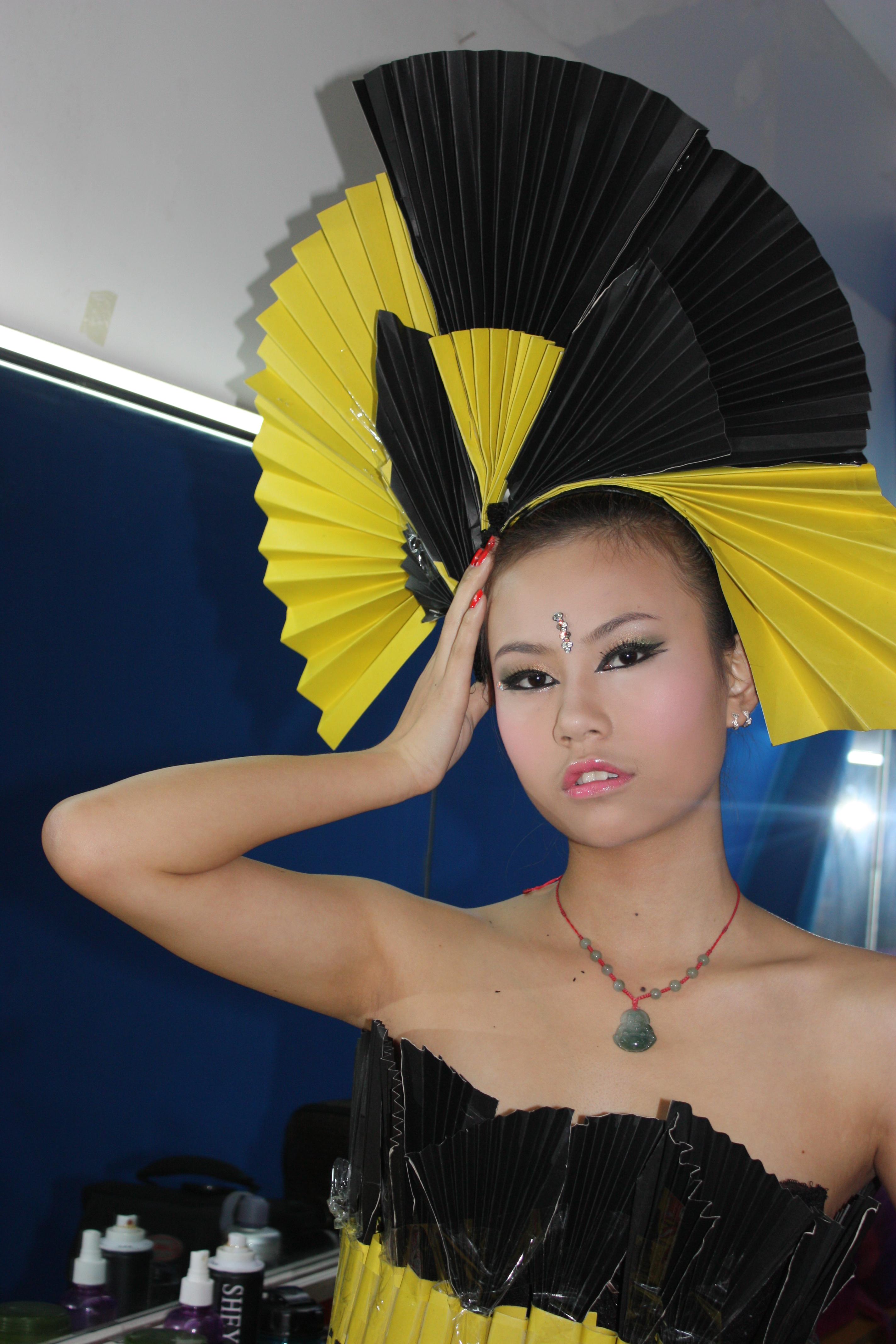 高级化妆班时尚创意妆图片
