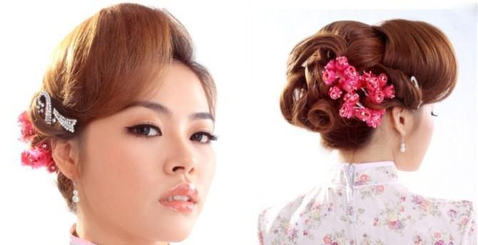 新娘包发发型详细步骤 (670x344)